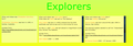 Honeycomb explorers